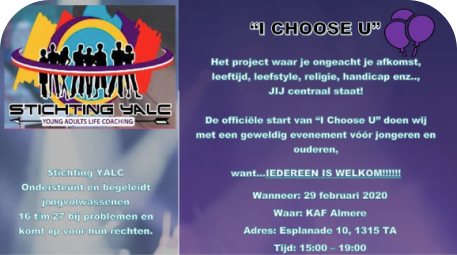 Evenement I choose U